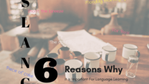 Post 6 reasons why slang is important