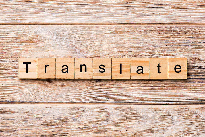Content translation business