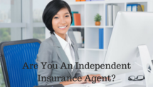 Post are you an independent insurance agent