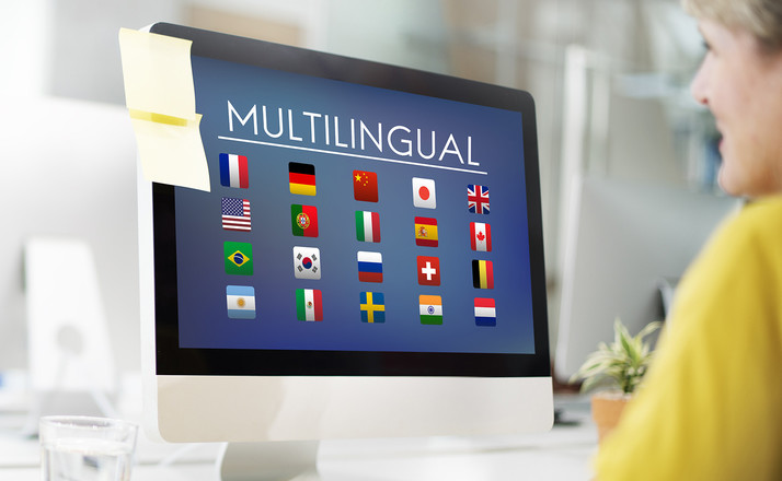 Content multilingual websites translations